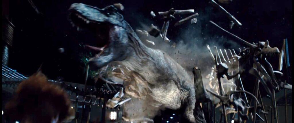『ジュラシック・ワールド』のトリビア_ティラノサウルスの復讐