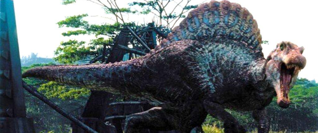 『ジュラシック・パーク+ワールド』に登場する肉食恐竜_スピノサウルス・エジプティアクス:Spinosaurus Aegyptiacus
