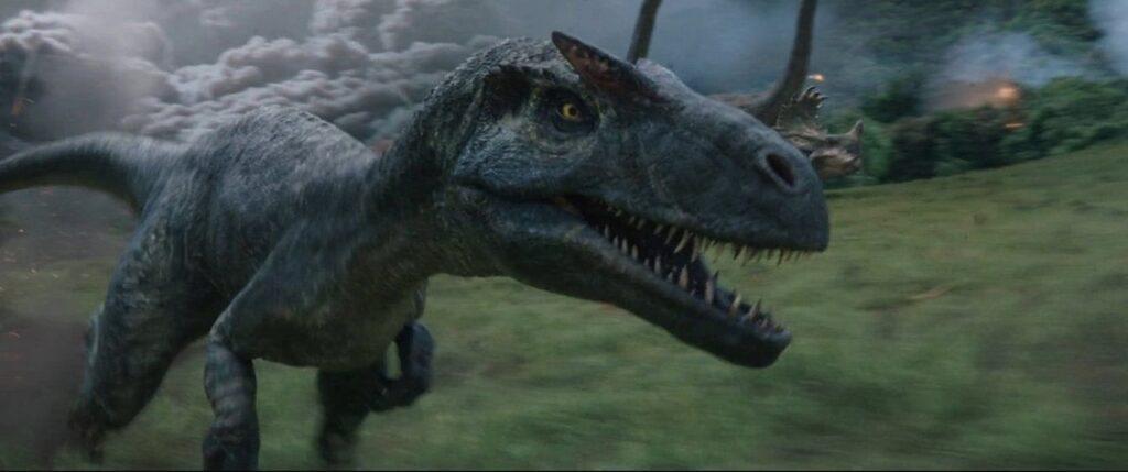 『ジュラシック・パーク+ワールド』に登場する肉食恐竜_アロサウルス:Allosaurus