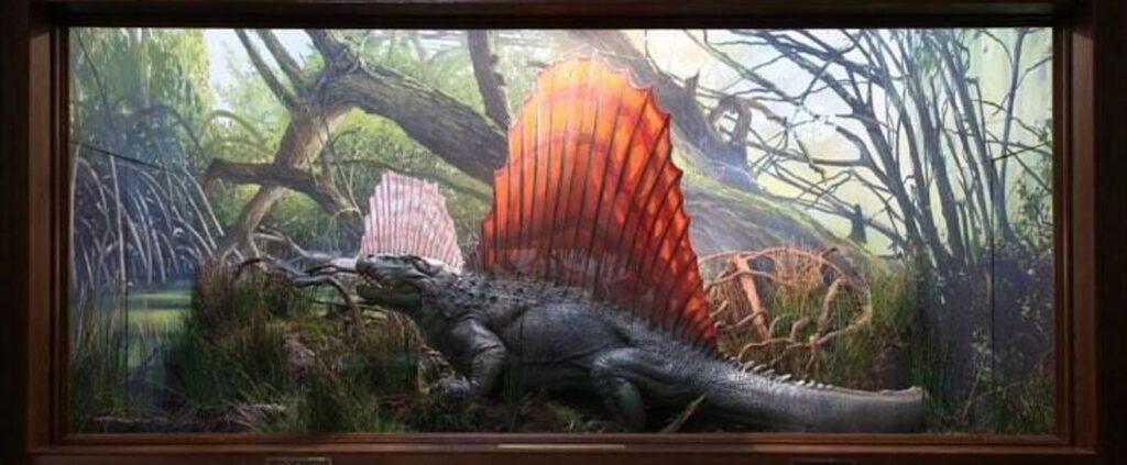 『ジュラシック・パーク+ワールド』に登場する肉食恐竜_ディメトロドン:Dimetrodon