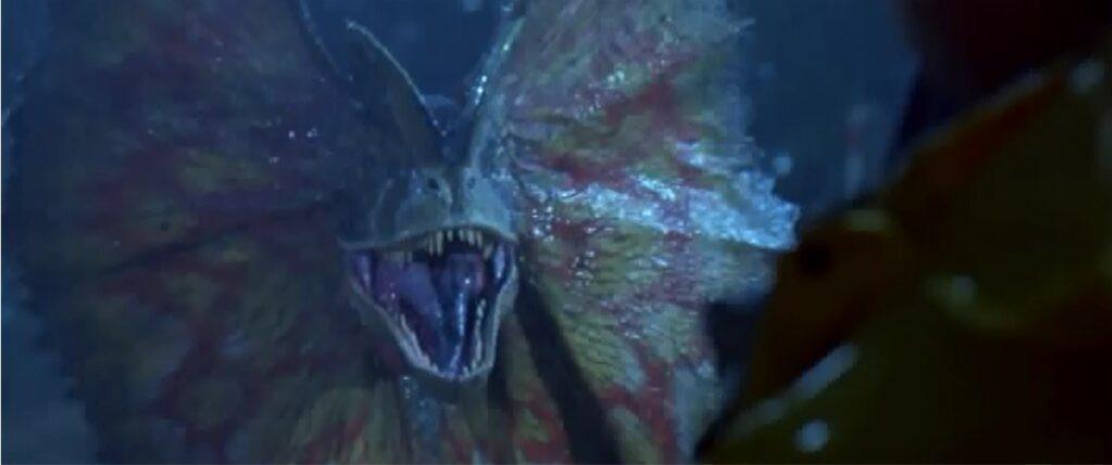 『ジュラシック・パーク+ワールド』に登場する肉食恐竜_ディロフォサウルス:Dilophosaurus