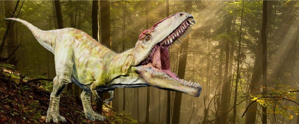 『ジュラシック・パーク+ワールド』に登場する肉食恐竜_ギガノトサウルス:Giganotosaurus