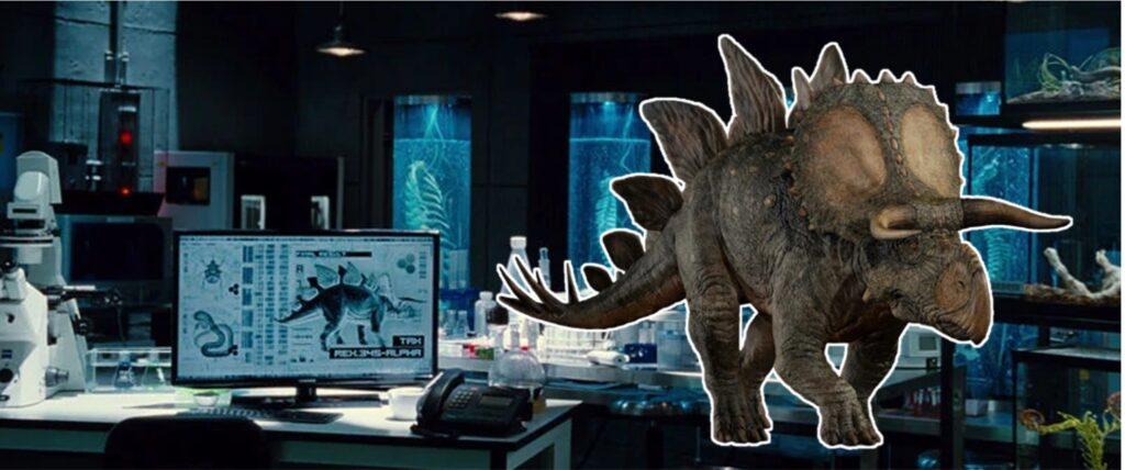 『ジュラシック・パーク+ワールド』に登場する新種_ステゴケラトプス:Stegoceratops