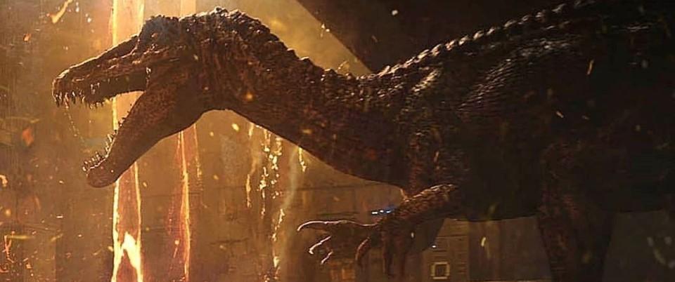 『ジュラシック・パーク+ワールド』に登場する肉食恐竜_バリオニクス:Baryonyx
