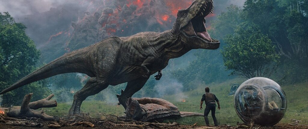 『ジュラシック・パーク+ワールド』に登場する肉食恐竜_ティラノサウルス・レックス:Tyrannosaurus Rex