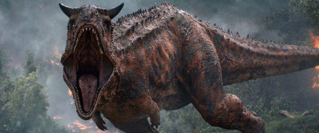 『ジュラシック・パーク+ワールド』に登場する肉食恐竜_カルノタウルス:Carnotaurus