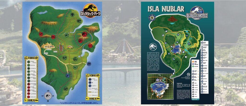 ジュラシックパーク‗ジュラシックワールド‗イスラ・ヌブラル島