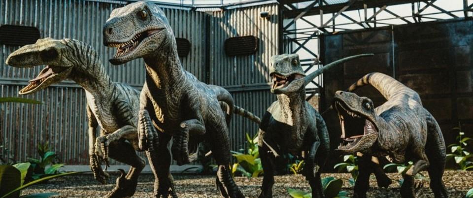 『ジュラシック・パーク+ワールド』に登場する肉食恐竜_ヴェロキラプトル:Velociraptor