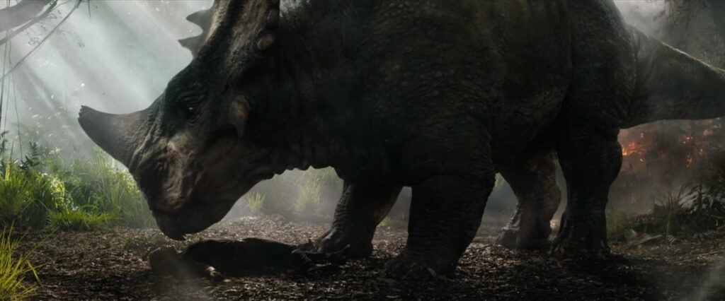 『ジュラシック・ワールド炎の王国』のトリビア_本来生息していないハズの謎の恐竜。