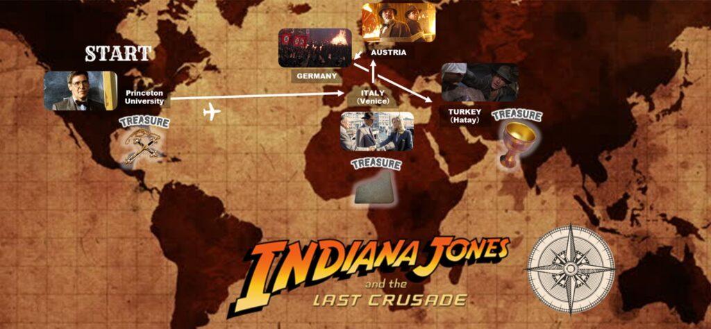 インディ・ジョーンズ:最後の聖戦_冒険_アドベンチャーマップ