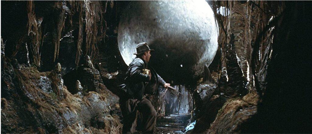『レイダース失われたアーク《聖櫃》』:見所_巨石ゴロゴロ