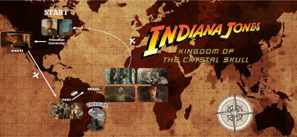 インディ・ジョーンズ:クリスタル・スカルの王国_冒険_アドベンチャーマップ